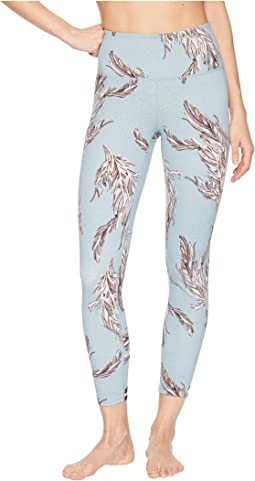 Mid-Rise Ankle Length Serene Printed Leggings