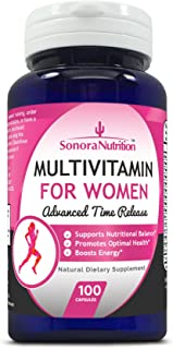 Sonora Nutrition Multivitamin for Women Advanced Time Release, 100 Capsules