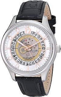 Men's Sputnik-2 CP-7026-02 Silver Leather Automatic Self Wind Dress Watch