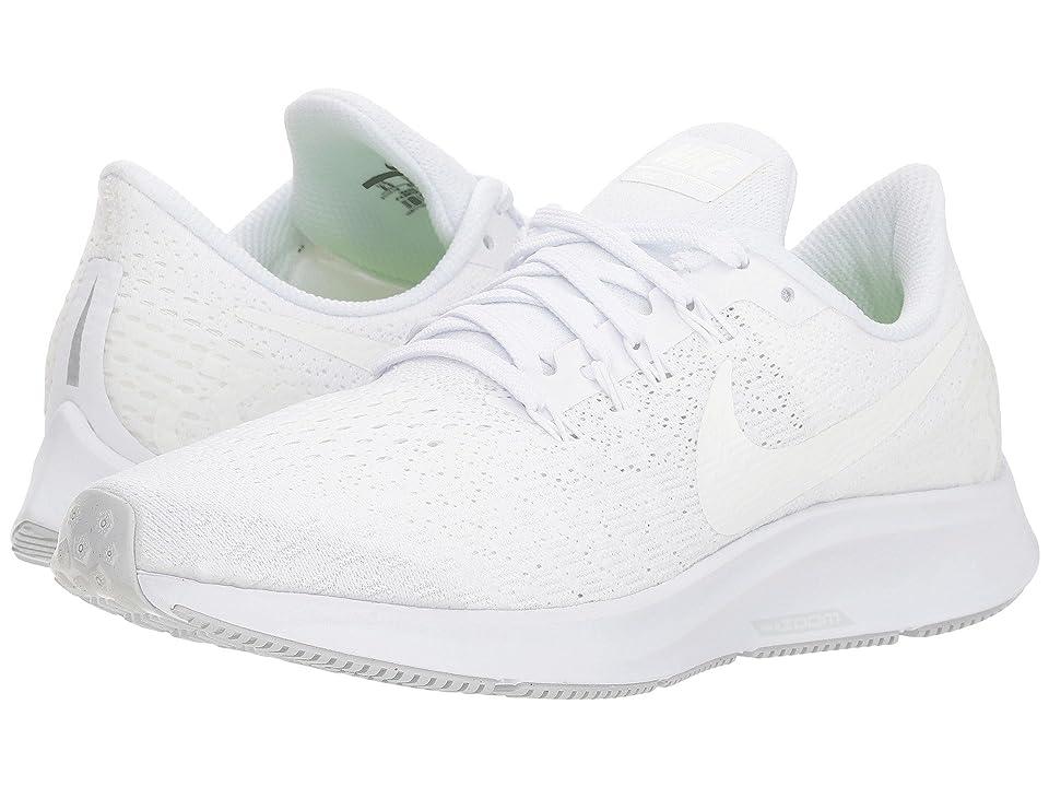 Nike Air Zoom Pegasus 35 (White/Summit White/Pure Platinum) Women