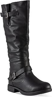 Women's Amira Wide Width, Wide Calf Knee-High Riding Boot
