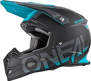 "O""NEAL 5 Series Blocker Motocross Enduro MTB Helm schwarz/türkis 2018 Oneal: Größe: L 59-60cm"