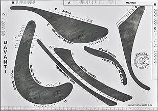 Forma a virgola per Designer di Moda o Arte TRIXES Righello Flessibile Curvo