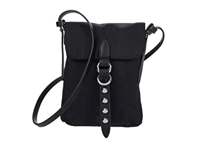 Rebecca Minkoff Bowie Phone Crossbody (Black) Handbags