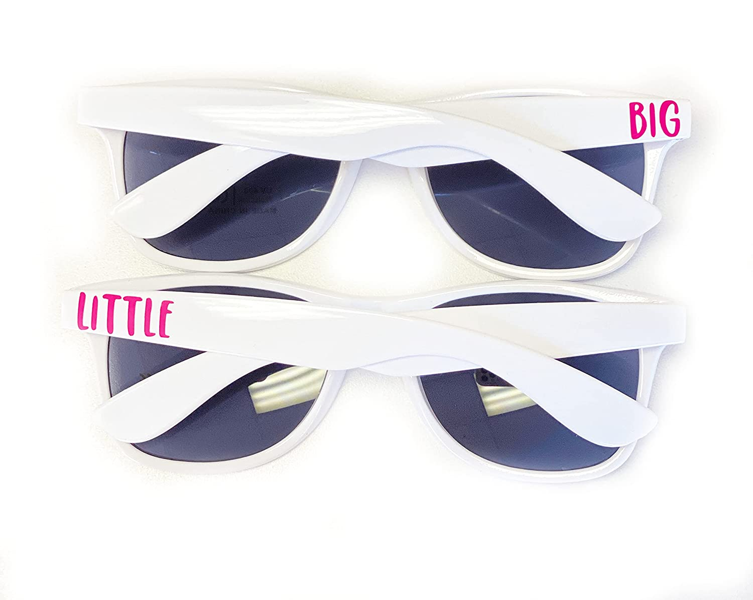 Big Free shipping on posting reviews Attention brand and Little Sunglasses Sorority Gifts