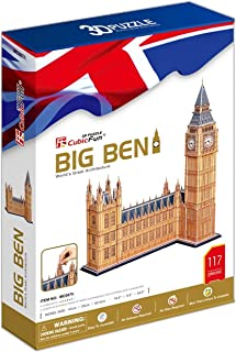 CubicFun Big Ben 3D Puzzle 117 Pieces