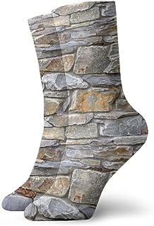 岩壁ファッショナブルなカラフルなファンキー柄の綿のドレスソックス11.8インチ