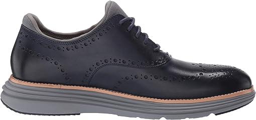 Marine Blue Leather/Sleet