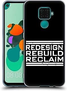Official WWE Redesign, Rebuild, Reclaim Seth Rollins Soft Gel Case Compatible for Huawei Nova 5i Pro/Mate 30 Lite