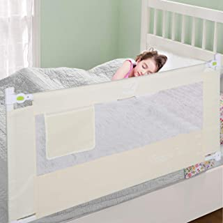 Bed Rail for Toddler, Foldable Baby Kids Safety Bedrail 59