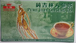 1 boxes Royal king pure jilin ginseng tea (20 tea bag) each box