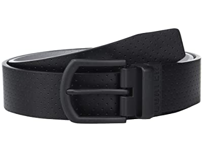 TravisMathew Slated Belt (Black/Light Grey) Men