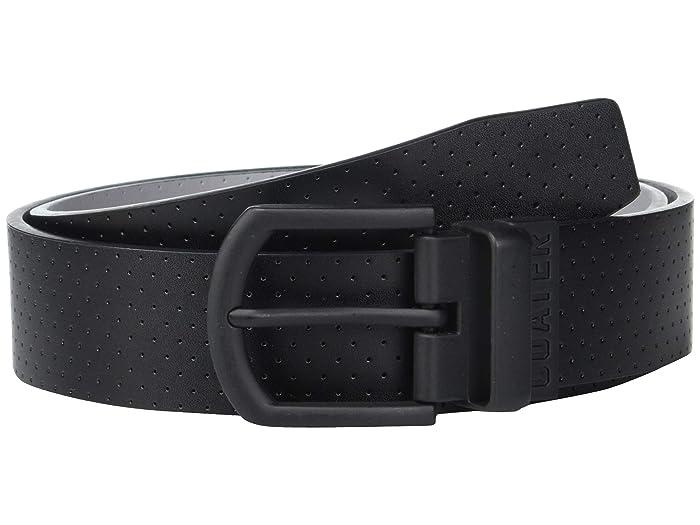 TravisMathew Slated Belt (Black/Light Grey) Men