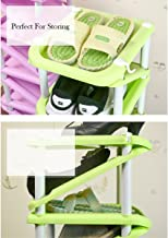 MSE Conveniently Diagonal Shoe Rack and Umbrella Holder (Green)