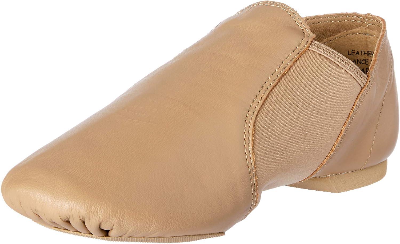 Capezio Unisex-Child E-Series Jazz Slip on Ballet Flat