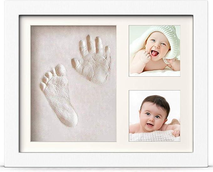 3963 opinioni per PewinGo Cornice Bambini Impronte Argilla, Kit Neonato Cornice per dei Piedini e