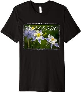 Scenic Colorado Columbine T-Shirt, Colorado t shirt