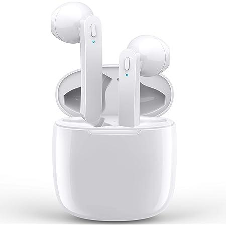 Jecoo Audífonos Bluetooth inalámbricos, Auriculares Impermerable con micrófono Incorporado, portátil y táctil Mano Libre