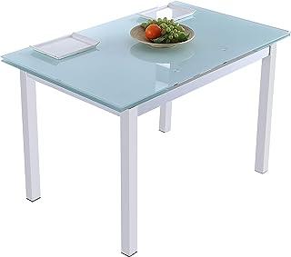 Adec - Milan, Mesa de Comedor salón o Cocina Extensible,