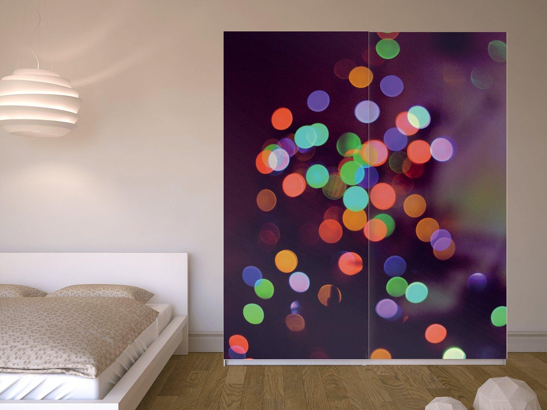 Muebles Decoración para Ikea Pax Armario 201 cm altura – Puerta ...