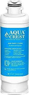 AQUACREST DA97-17376B Refrigerator Water Filter, Compatible with Samsung DA97-17376B, DA97-08006C, HAF-QIN, HAF-QIN/EXP