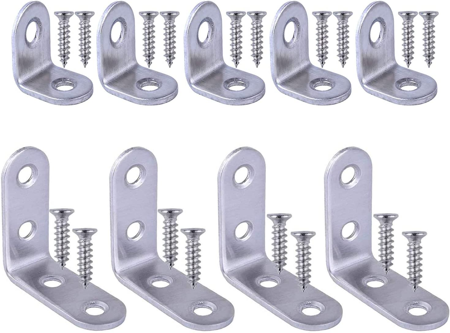 Challenge the lowest price of Japan 30 pcs Corner Brace L Brackets 90 Degree Angle J All items free shipping Steel Stainless