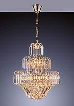 Startec 140120001, Lustre Floratas, Cristal Dourado Bivolt