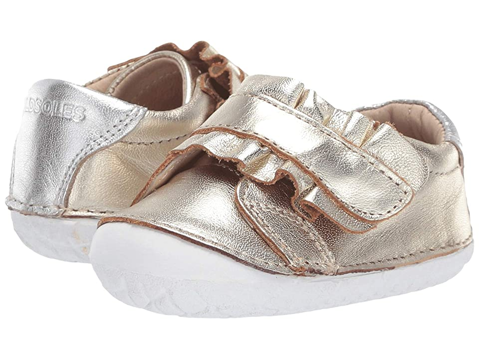 Old Soles Frill Pave (Infant/Toddler) (Gold/Silver) Girl