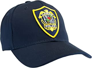 Hawaii Five O Hat Ball Cap Hat Honolulu Police Five 0 Blue