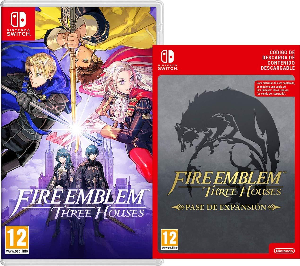 Fire Emblem: Three Houses [Nintendo Switch] + Pase de Expansión [Switch Download Code]: Amazon.es: Videojuegos