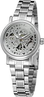 Wristwatch Women' s Analog Roman Number Self-Wind Auto Mechanical Watch