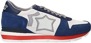 ATLANTIC STARS Men's SIRIUSBW35BL Blue Suede Sneakers