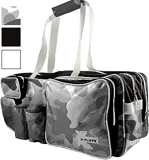 K-Cliffs Tennis Racket Bag | Deluxe Ballistic Nylon | Shoe Compartment