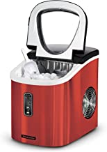 Tramontina 80901/527DS Stainless Steel Ice Maker, Red
