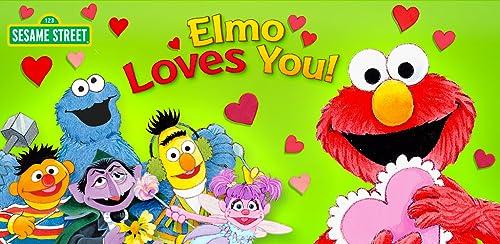 『Elmo Loves You!』のトップ画像