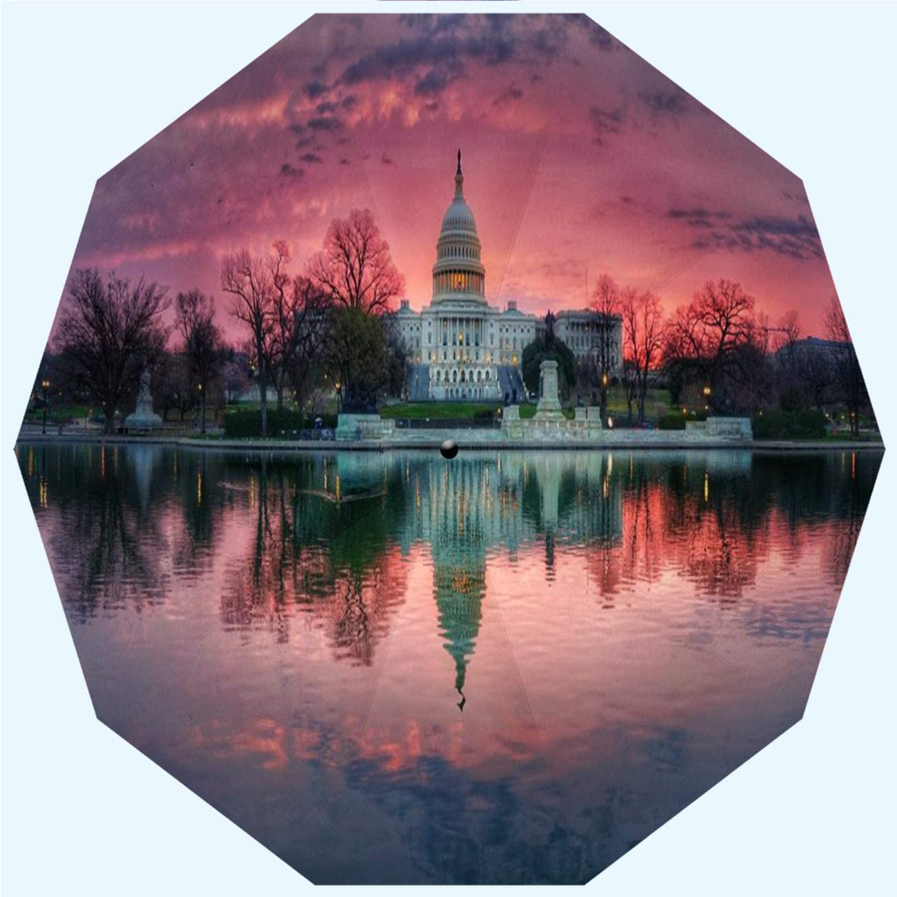 RLDSESS Pink Travel Folding Umbrella Opening Automatic lowest price and Tulsa Mall Clos