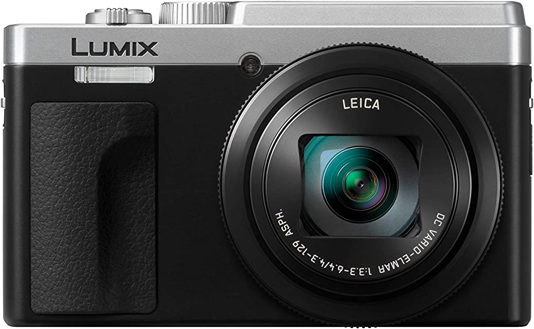 Panasonic Lumix TZ95 - Cámara Compacta Superzoom (21.1 mp 10 fps Zoom de 30x Funciones 4K Wifi Bluetooth Tamaño Bolsillo) Plata