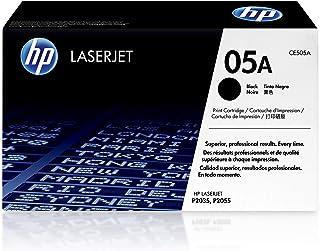 HP 05A Black Original LaserJet Toner Cartridge - CE505A