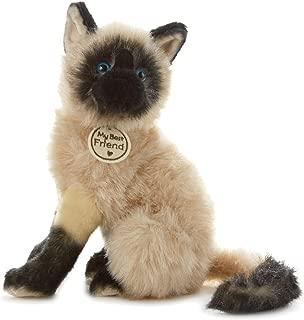 Hallmark My Best Friend Large Siamese Cat Plush Stuffed Animal
