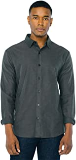 American Apparel Men`s Flannel Long Sleeve Classic Shirt