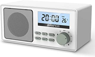 JUMPER Sleep Sound Machine Baby Rest Sound White Noise Machine Built-in 9 Nature Sounds with Power Supply, Timing Alarm Clock Function for Gentle Sleeping