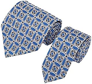 Mens Silk Tie Set, With Pocket Square & Cufflinks, Gift Wrapped. 3 Piece Set. 100% Finest Quality Chinese Silk. Janeo British Apparel Designer Branded By Paresh Raja.