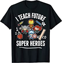 Marvel Avengers Classic I Teach Super Heroes Graphic T-Shirt T-Shirt