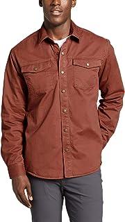 [エディー・バウアー] Eddie Bauer 長袖フレックスレジェンドウォッシュフリースラインシャツジャケット シャツジャケット メンズ