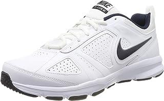 Nike T-LITE XI, Men's Fitness & Cross Training Shoes, White (White/Obsidian-Blk-Mtllc Slvr 101), 8.5 UK (43 EU)