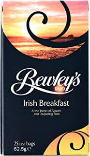Bewley's Tea Bags, Irish Breakfast, 25 Count, 62.5 Gram