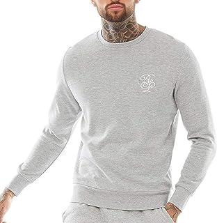 BRAVE SOUL Arthur Sweatshirt Grey Marl