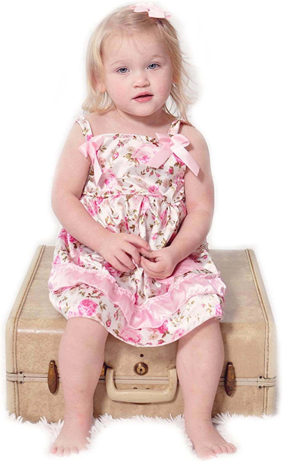 Special sale item Baby Girl Toddler Swing Dress Set-3PCS Cash special price Bloomer Top