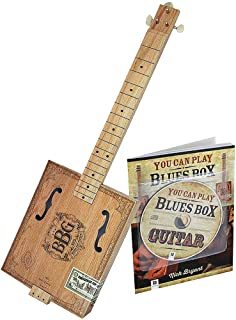Blues Box Slide Guitar CD Kit - Learn To Play This Fun 3-String Instrument