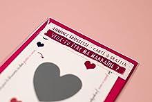 Annonce originale pour la grossesse | Carte à gratter Veux-tu être ma Marraine
